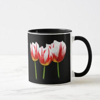 Elegante Ahornblatt-Tulpen Tasse