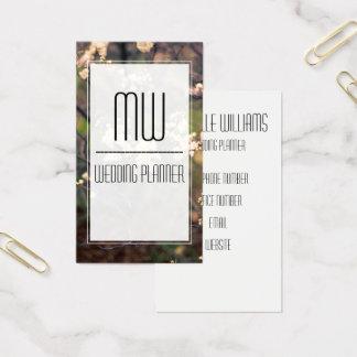 Elegante Blumen-berufliche Geschäfts-Karte Visitenkarte