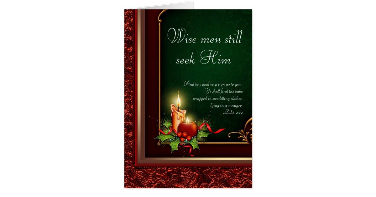 Elegante christliche weihnachtskarten gru karte zazzle - Christliche weihnachtskarten ...