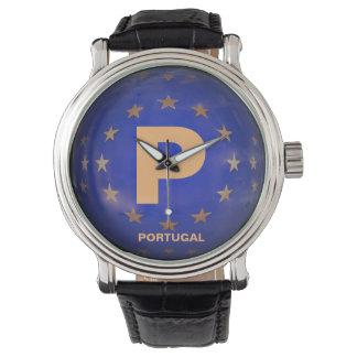 Elegante das Portugal-Uhr der Männer Uhr