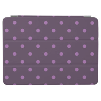 elegante dunkle und hellpurpurne Tupfen iPad Air Hülle