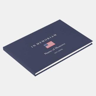 Elegante Erinnerungsvereinigte staaten Gästebuch