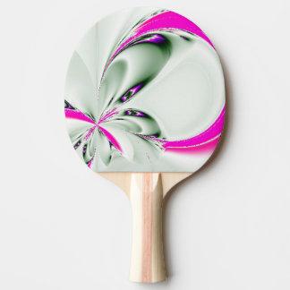 Elegante Fraktal-Touch des Rosas Tischtennis Schläger