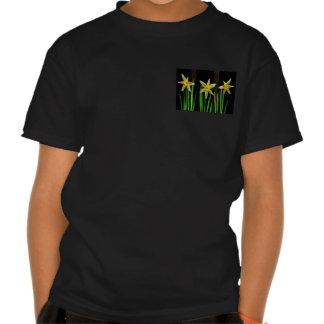 Elegante gelbe Blumen-Blumenblumenstrauß-Geschenke T Shirt