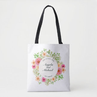 Elegante gerade verheiratete tasche