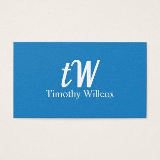Elegante Gestaltung Modernes Minimalistisches Visitenkarte