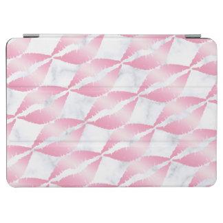 elegante girly Rosengoldlippen kopieren weißen iPad Air Hülle