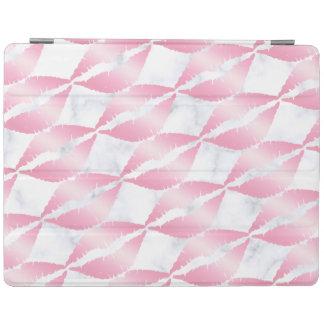 elegante girly Rosengoldlippen kopieren weißen iPad Hülle