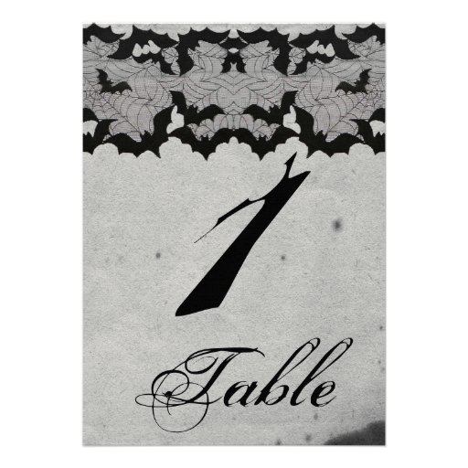 Elegante gotische Schläger-Spitze-Posh Wedding Personalisierte Einladungskarten