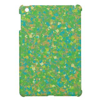 Elegante grüne Confetti SCHABLONE addieren iPad Mini Hülle