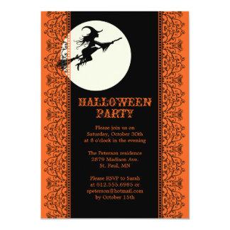 Elegante Halloween-Party-Einladung - B 12,7 X 17,8 Cm Einladungskarte