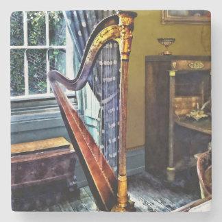 Elegante Harfe Steinuntersetzer