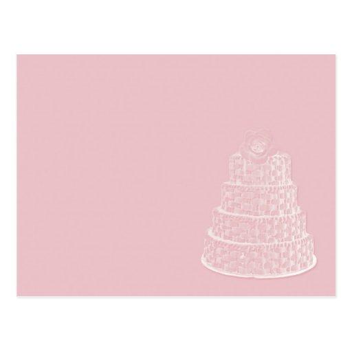 elegante Hochzeit Postkarten