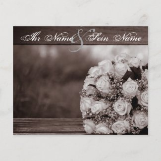 Elegante Hochzeits-Einladungen