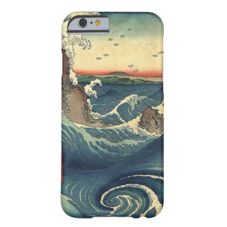 Elegante japanische Ozean-Gezeiten Vintager iPhone Barely There iPhone 6 Hülle