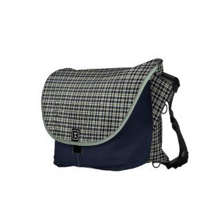 Elegante karierte Muster-Bote-Tasche Kuriertasche