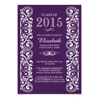 Elegante Klasse von Abschluss-Party Einladung 2015
