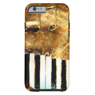 Elegante Klavier-Musik u. Anmerkungen Tough iPhone 6 Hülle