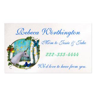 Elegante Mama-Telefonkarte Visitenkarten