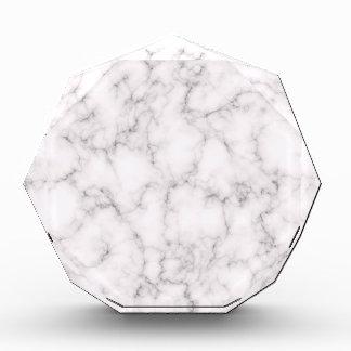 Elegante Marmorart Acryl Auszeichnung