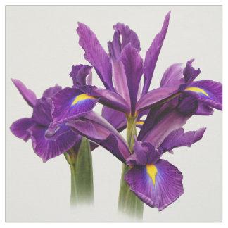 Elegante niederländische Iris-lila Empfindung Stoff