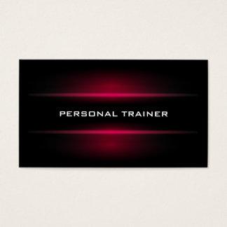 Elegante persönliche Trainer-Visitenkarte Visitenkarten