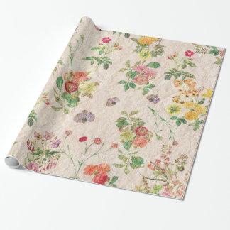 Elegante romantische rosa mit geschenkpapier