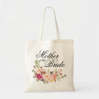 Elegante rustikale Blumenmutter der Braut Tragetasche