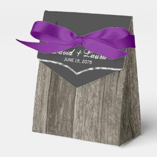 Elegante rustikale Scheunen-hölzerne Geschenkkartons