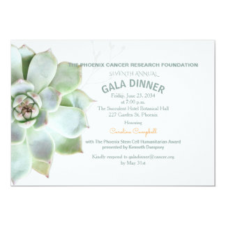 Elegante saftige Festbankett-Einladung 12,7 X 17,8 Cm Einladungskarte