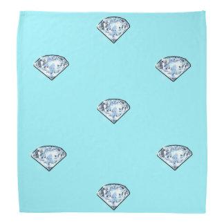 Elegante schicke glänzende Diamanten Girly Kopftuch