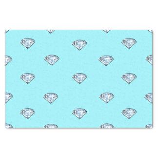 Elegante schicke glänzende Diamanten Girly Seidenpapier