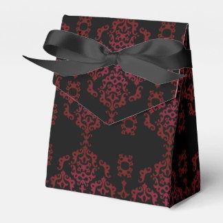 Elegante schwarze Rolle - Bevorzugungs-Kasten Geschenkschachtel