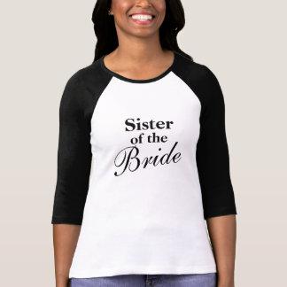 Elegante Schwester der Brautt-shirts Hemd