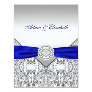 Elegante Silber-und Karte