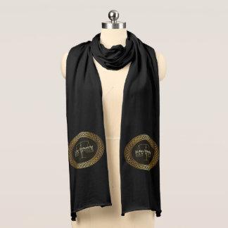 Elegante Skalen des Gerechtigkeitssymbols Schal