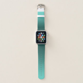 Elegante Steigung aquamarin Apple Watch Armband