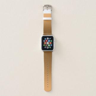 Elegante Steigung golden Apple Watch Armband
