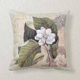 Elegante südliche Schönheits-Magnolien-Blüte Kissen
