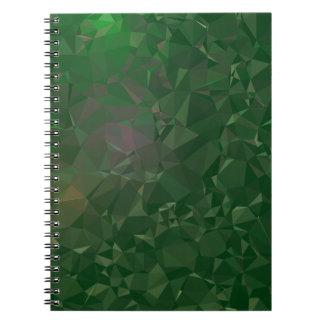Elegante u. saubere geometrische Entwürfe - Bolden Spiral Notizblock