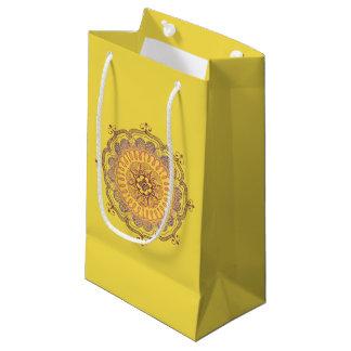 Elegante und bunte Mandala-kleine Kleine Geschenktüte