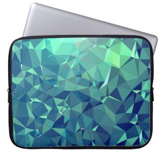 Elegante und moderne Geo-Kunst - ausgezeichneter Laptopschutzhülle