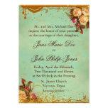 Elegante viktorianische Rosen-Einladung