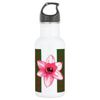 Elegante wilde exotische Kaktus-Blume auf Shirts Trinkflasche