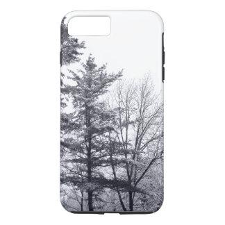 Elegante Winter-Baum-Fotografie iPhone 8 Plus/7 Plus Hülle