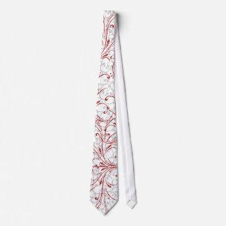 elegante Wirbelsrotkrawatte Personalisierte Krawatte