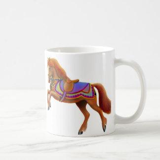 Elegante Zirkus-PferdeTasse Kaffeetasse