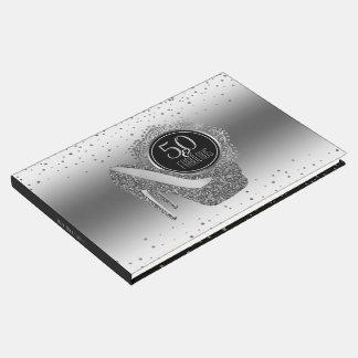 Eleganter 50. Geburtstag 50 u. fabelhaftes Gästebuch