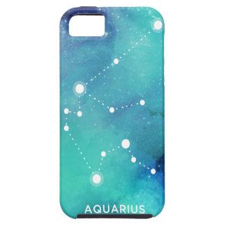 Eleganter aquamariner blauer iPhone 5 hüllen