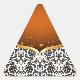 Eleganter Araber Dreieckiger Aufkleber